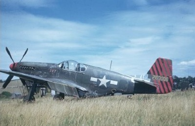 F-6C 111th TRS in France, 1944