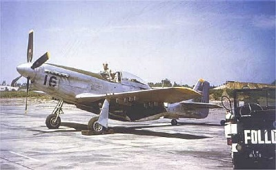 P-51D used for pilot training